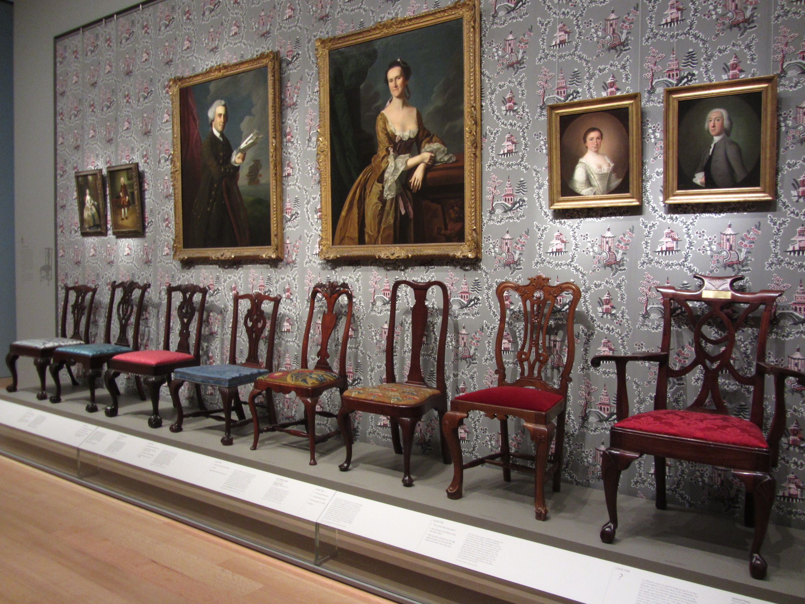 The Traditional U201ccarousel Of Progressu201d In Chairs In U201cArt Of The Americasu201d  At The Boston MFA