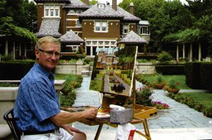 Ronald Mack. Photo courtesy of Indiana Plein Air Painters Association.