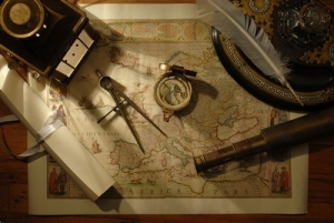 Historic map and tools