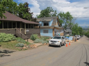 Historic cabins are continually updated at Colorado Chautauqua
