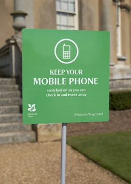 Sign-Mobile Phones