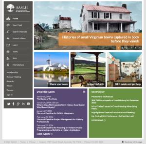 AASLH website 2013
