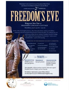 Freedom's Eve at President Lincoln's Cottage