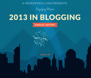 Your 2013 year in blogging