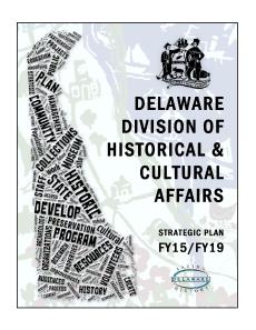Delaware Strategic Plan FY15-FY19 cover
