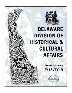 Delaware Strategic Plan FY15-FY19 cover