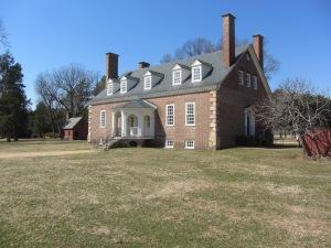 George Mason's Gunston Hall, Virginia.