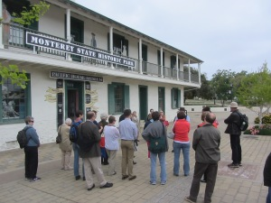 Walking tour of historic Monterey, California.