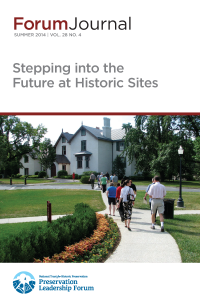 Future of Historic Sites Forum Journal 2014
