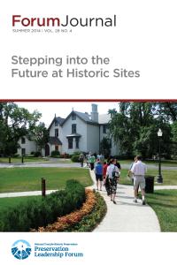 Future of Historic Sites Forum Journal 2014