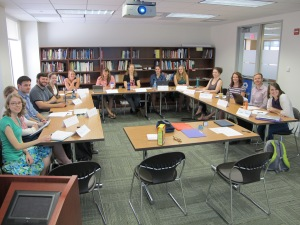 Historic Site Interpretation Class, Fall 2014, Museum Studies Program, George Washington University.