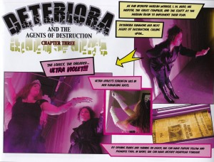 """""""Deteriora and the Agents of Destruction"""" by the Indiana Historical Society."""