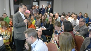 Discussing the History Relevance Campaign at a packed session at AASLH in St. Paul.