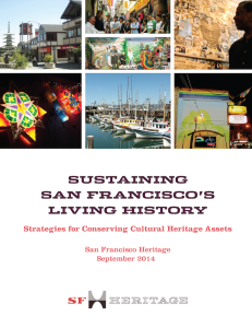 Sustaining San Francisco's Living History by San Francisco Heritage