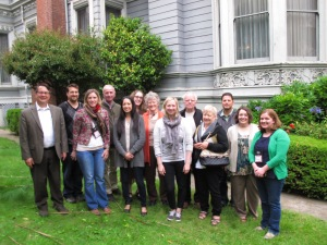 Historic House Museum workshop at the Haas-Lilienthal House in San Francisco, 2014.