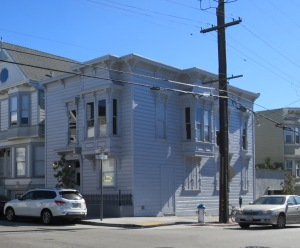 The David Ireland House, 500 Capp Street, San Francisco.