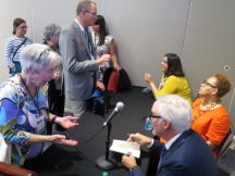 Chatting after a session at AASLH/MMA 2016