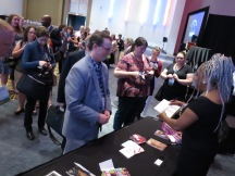 A long line to meet Mary Wilson at AASLH/MMA 2016
