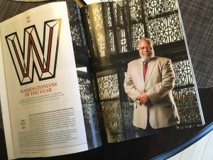 Lonnie Bunch, a Washingtonian of the Year.