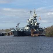 Battleship North Carolina, Wilmington, NC.