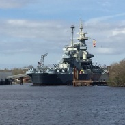 Battleship North Carolina, Wilmington, NC.